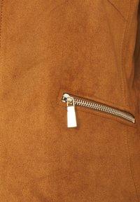 s.Oliver BLACK LABEL - Faux leather jacket - peanut bro - 2