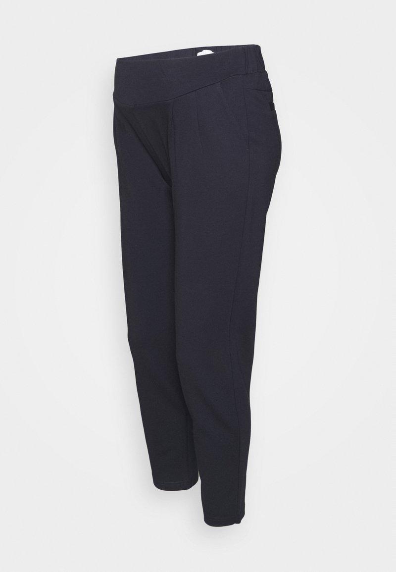 MAMALICIOUS - MLLIZA PANTS  - Trousers - navy blazer