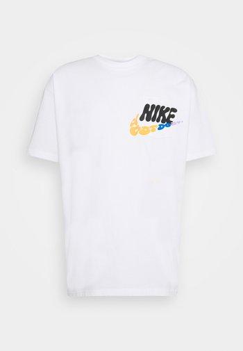 TEE SPORT POWER - T-shirt med print - white