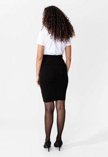 PAULINE - Pencil skirt - black
