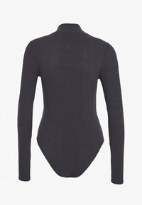 New Look - TURTLE NECK BODY - Long sleeved top - grey - 1