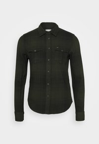 Lee - REGULAR WESTERN SHIRT - Camicia - serpico green - 4