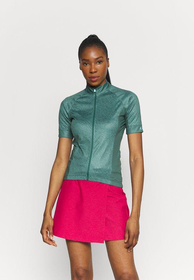 CHRONO SPORT - T-shirt print - grey/green pounce