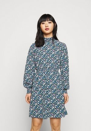 ONLWINNER HIGHNECK DRESS - Day dress - black/anni
