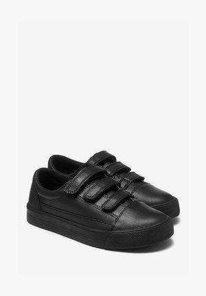 BLACK LEATHER SKATE STRAP SHOES (OLDER) - Trainers - black