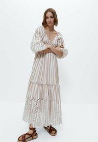 Uterqüe - Maxi dress - multi coloured - 1
