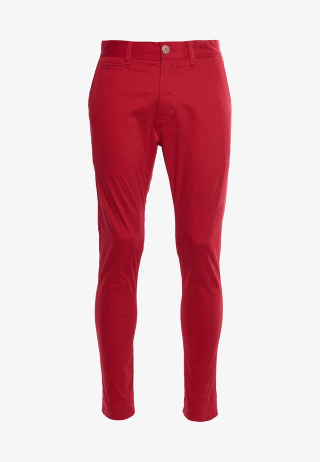 Chinos - rouge red