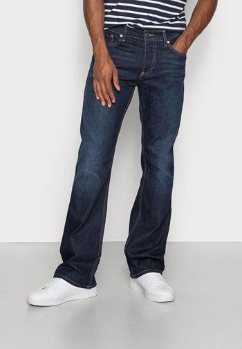 RYAN  - Jeans bootcut - lake raw stretch