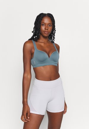 ONPMARTINE SEAMLESS SPORTS  BRA - Sports bra - goblin blue