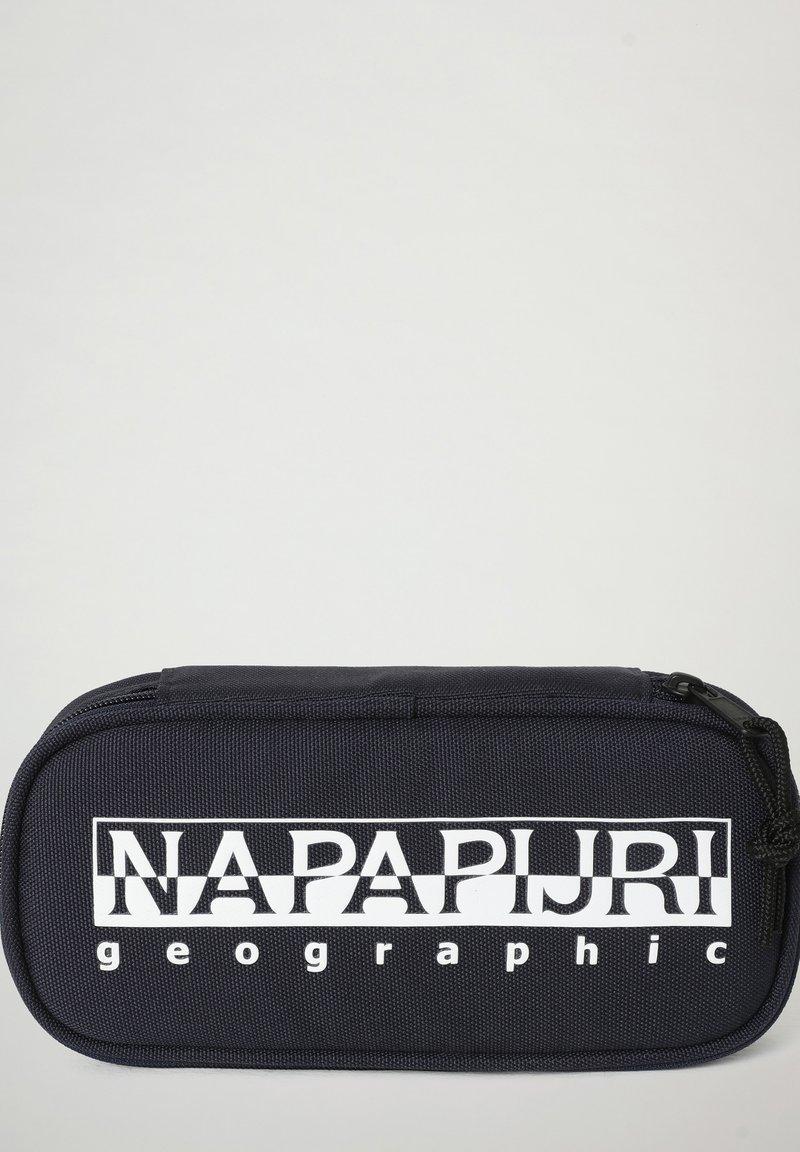Napapijri - HAPPY - Pencil case - blu marine
