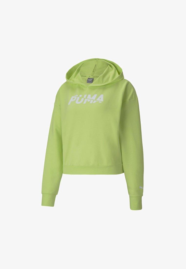 Puma - Felpa con cappuccio - sharp green