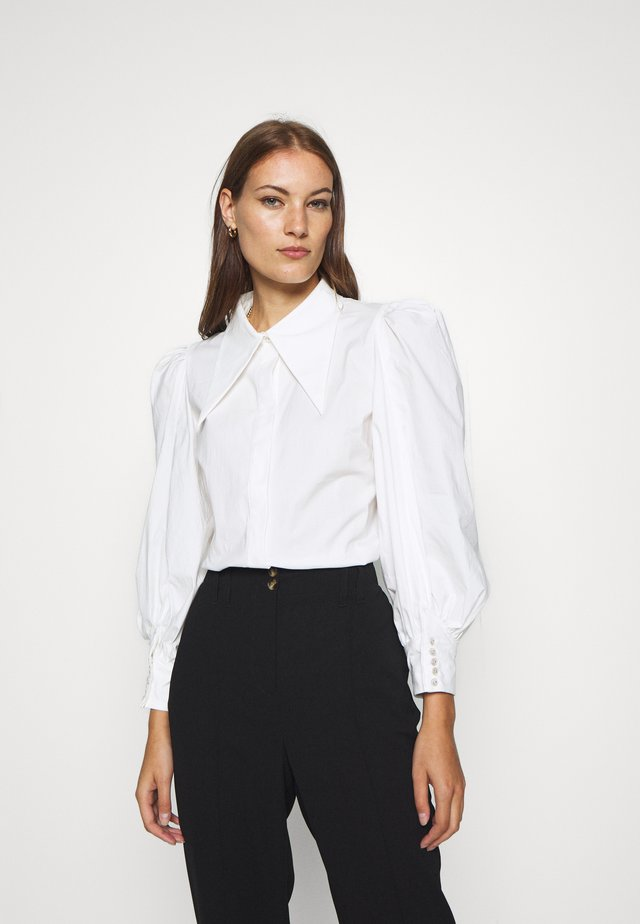 ESTEEMEND - Button-down blouse - white