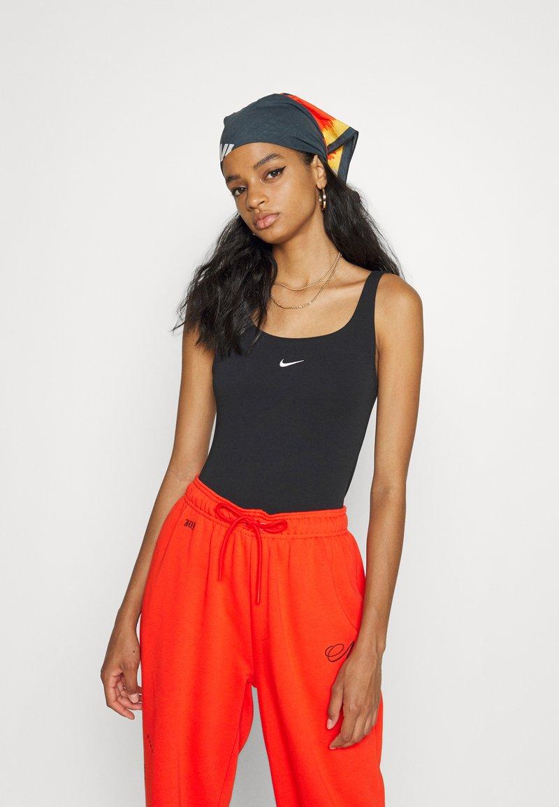 Nike Sportswear - CAMI TANK - Topper - black/white