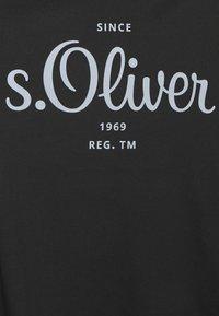 s.Oliver - Print T-shirt - black - 9