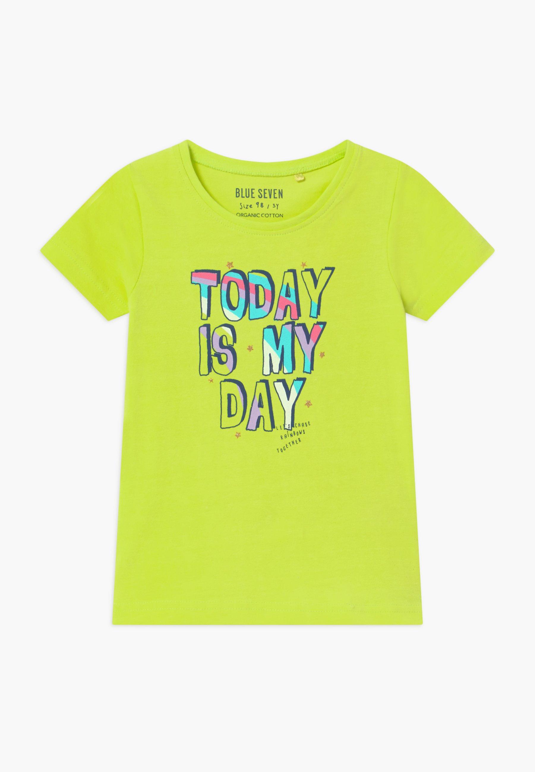 Kids SMALL GIRLS RAINBOW - Print T-shirt