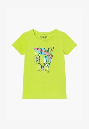 SMALL GIRLS RAINBOW - T-shirt print - hell grün