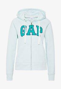GAP - Sudadera con cremallera - azul - 4