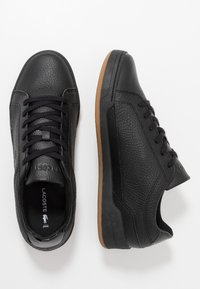 Lacoste - CHALLENGE - Sneakersy niskie - black - 1