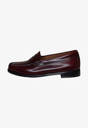 WEEJUN PENNY - Slip-ons - wine leather