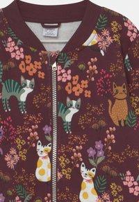 Lindex - MINI CATS - Zip-up sweatshirt - dark lilac - 2