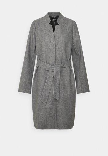 ONLVICTORIA - Classic coat - dark grey melange