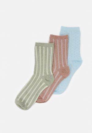 PCGANIMA SOCKS 3 PACK - Socks - warm taupe