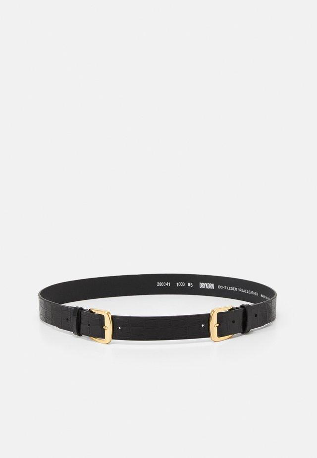 LINNEA - Cintura - black