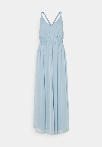 VICELOSIA SEQUIN STRAP ANKLE - Iltapuku - ashley blue