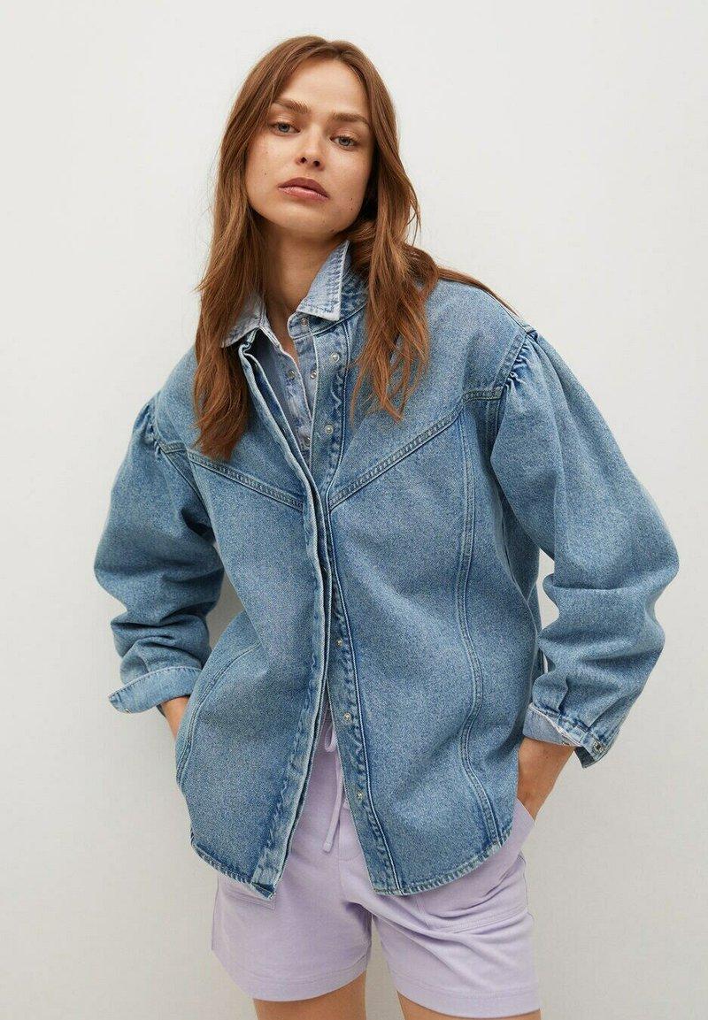 Mango - Denim jacket - middenblauw