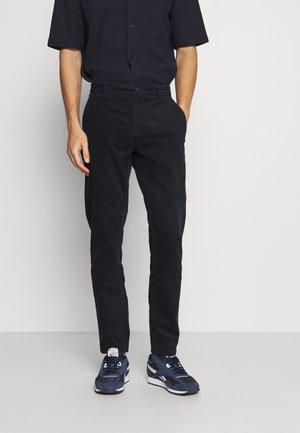 CROPPED PANTS - Pantalon classique - navy