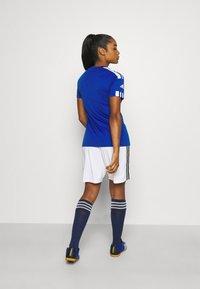 adidas Performance - SQUADRA 21 - T-shirts med print - royal blue/white - 2