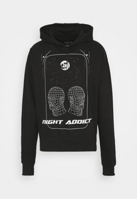 Night Addict - HEAD UNISEX - Hoodie - black - 4