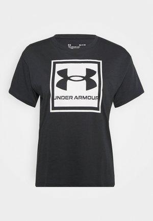 LIVE GLOW GRAPHIC TEE - Print T-shirt - black