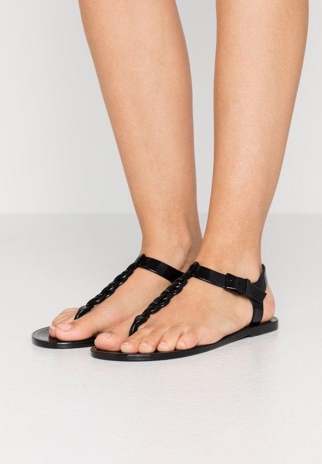 JORA - Chanclas de dedo - black