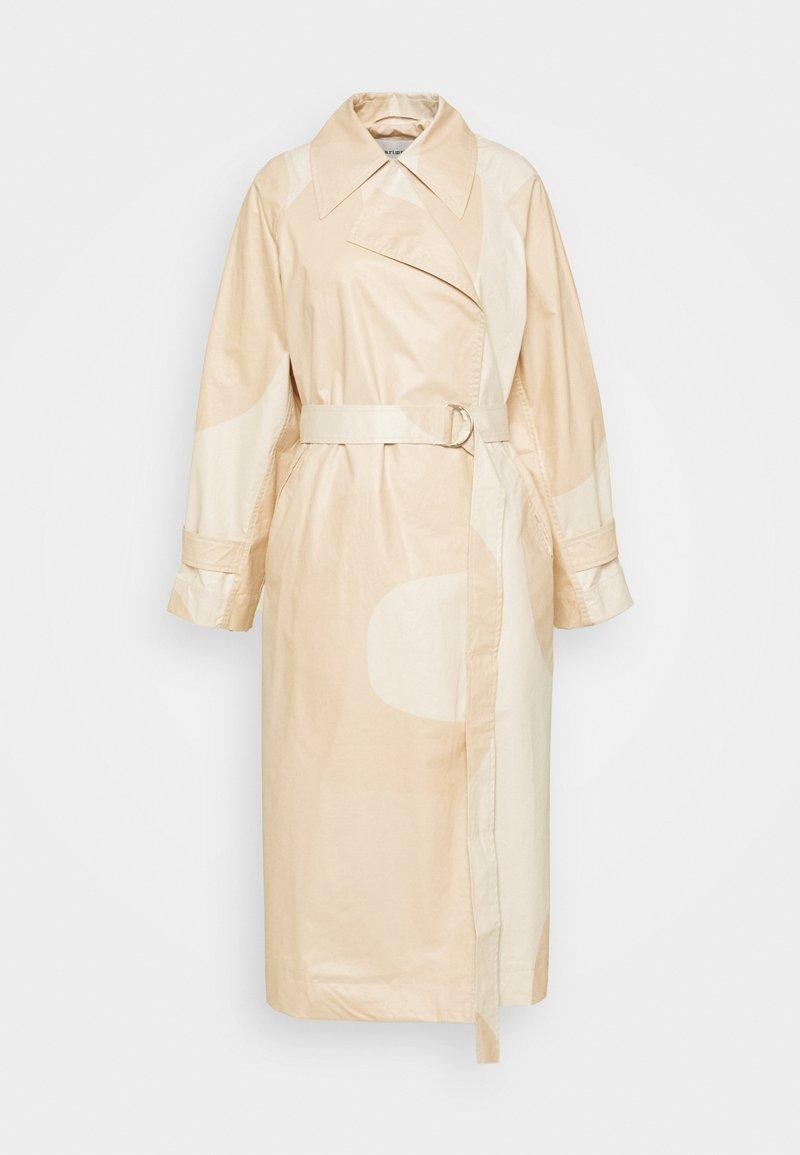 Marimekko - KANTAKULMA SEIREENI COAT - Trench - brown / beige