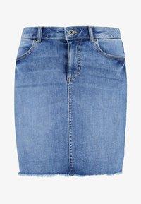 Pieces - PCAIA SKIRT - Denim skirt - light blue denim - 3
