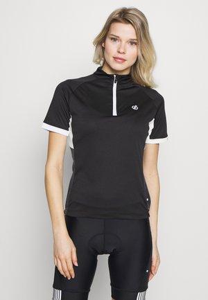 EXPOUND - Camiseta estampada - black