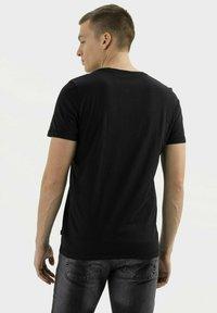camel active - Basic T-shirt - asphalt - 2