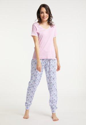 SET - Pyjama set - rosa blau