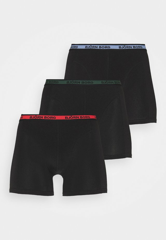 NEON SOLID SAMMY 3 PACK - Culotte - black beauty