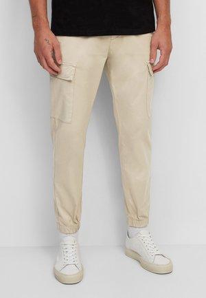 Cargo trousers - cobblestone