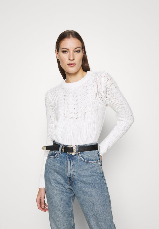 SUSTAINABLE PONTELLE  - Jumper - ivory