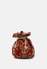 Hermina Athens - BASKET BROCADE MARBLE CHAIN - Handbag - natural/orange - 4