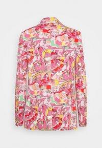 Iceberg - GIACCA - Blazer - stampa fondo rosa - 1