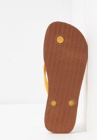 Havaianas - BRASIL LAYERS - Pool shoes - burned yellow - 4