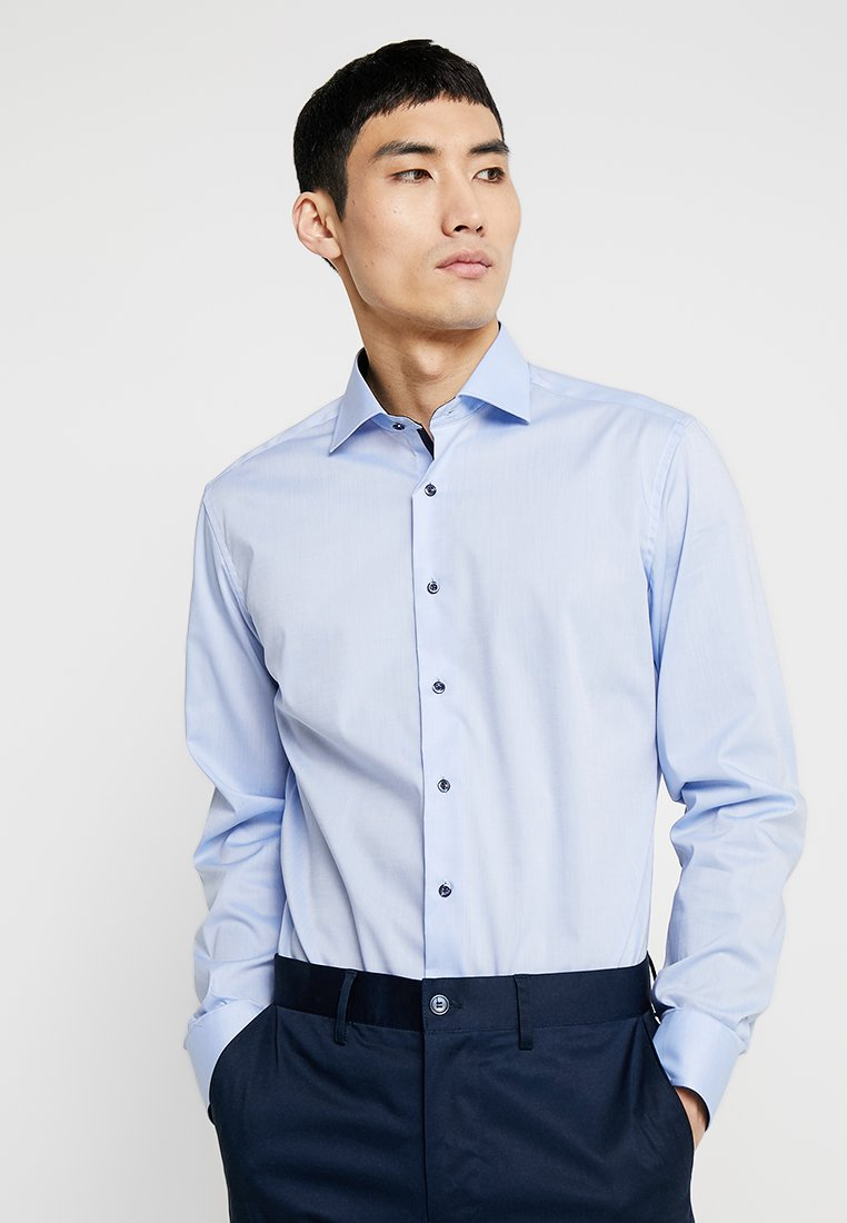 Eterna - SLIM FIT - Formální košile - light blue