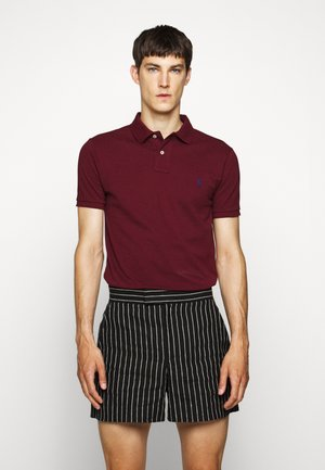 SLIM FIT MODEL - Polo shirt - classic wine