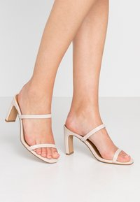 Rubi Shoes by Cotton On - LENNOX MULE - Heeled mules - nude - 0