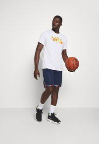 Nike Performance - DRY TEE ELITE - Print T-shirt - white - 1