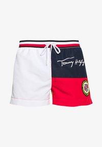 Tommy Hilfiger - DRAWSTRING - Swimming shorts - red - 2